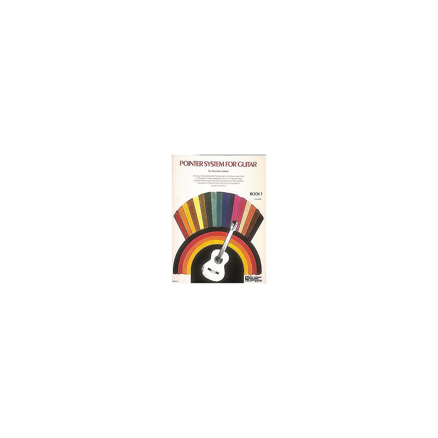 Hal Leonard Pointer System For Guitar 3 Book thumbnail