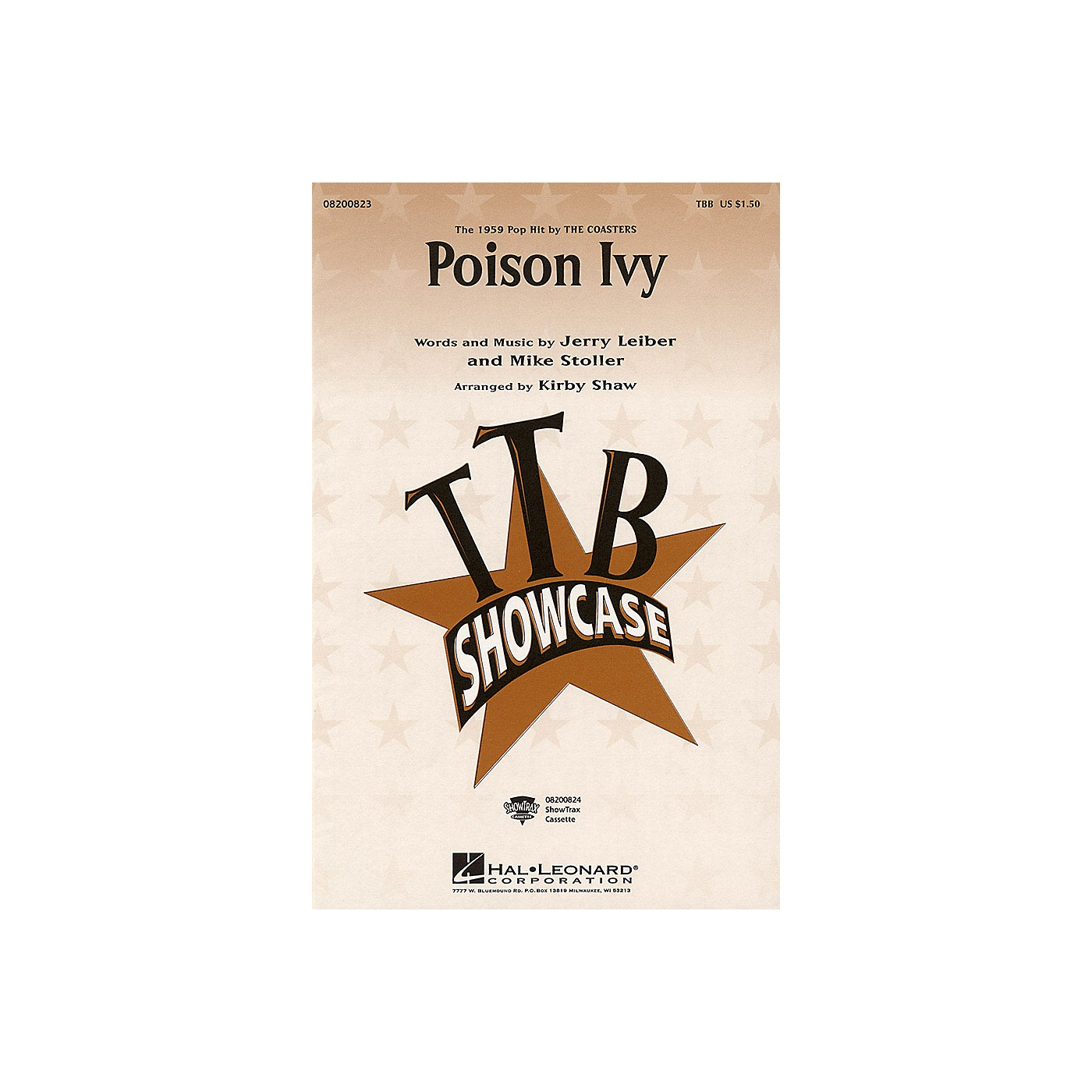 Hal Leonard Poison Ivy TBB arranged by Kirby Shaw thumbnail