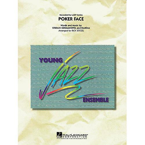 Hal Leonard Poker Face Jazz Band Level 3 by Lady Gaga Arranged by Rick Stitzel thumbnail