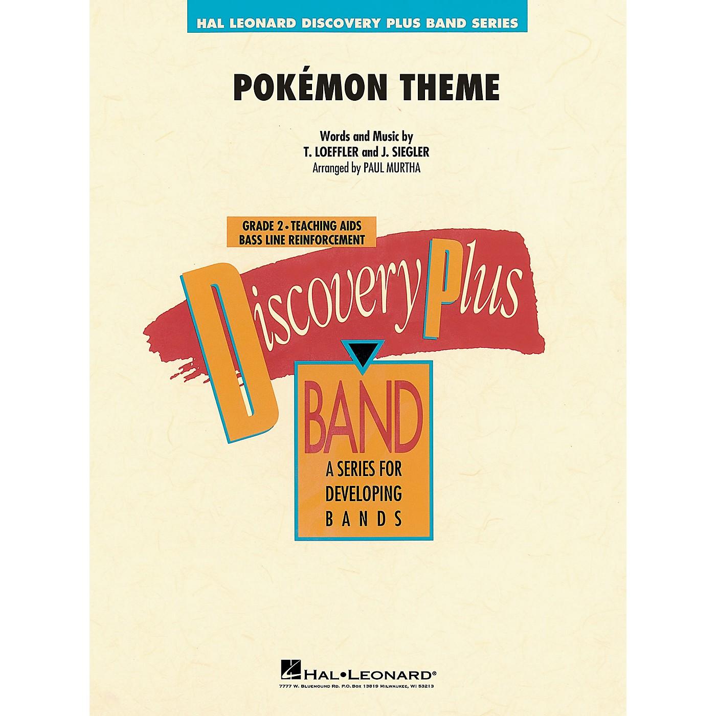 Hal Leonard Pokémon Theme - Discovery Plus Concert Band Series Level 2 arranged by Paul Murtha thumbnail