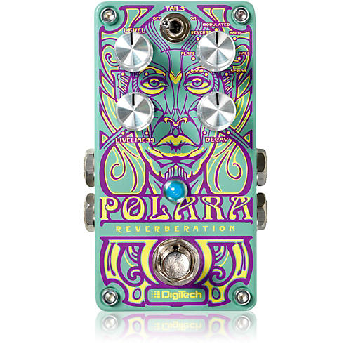DigiTech Polara Reverb Guitar Effects Pedal thumbnail