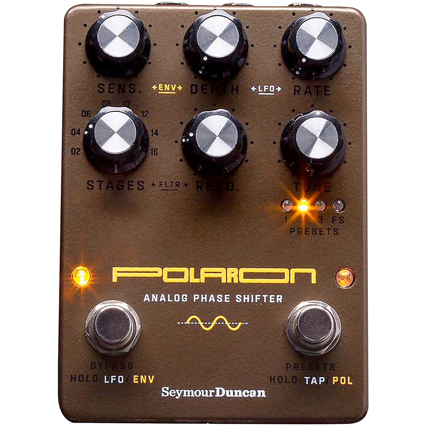 Seymour Duncan Polaron Analog Phase Shifter Effects Pedal thumbnail