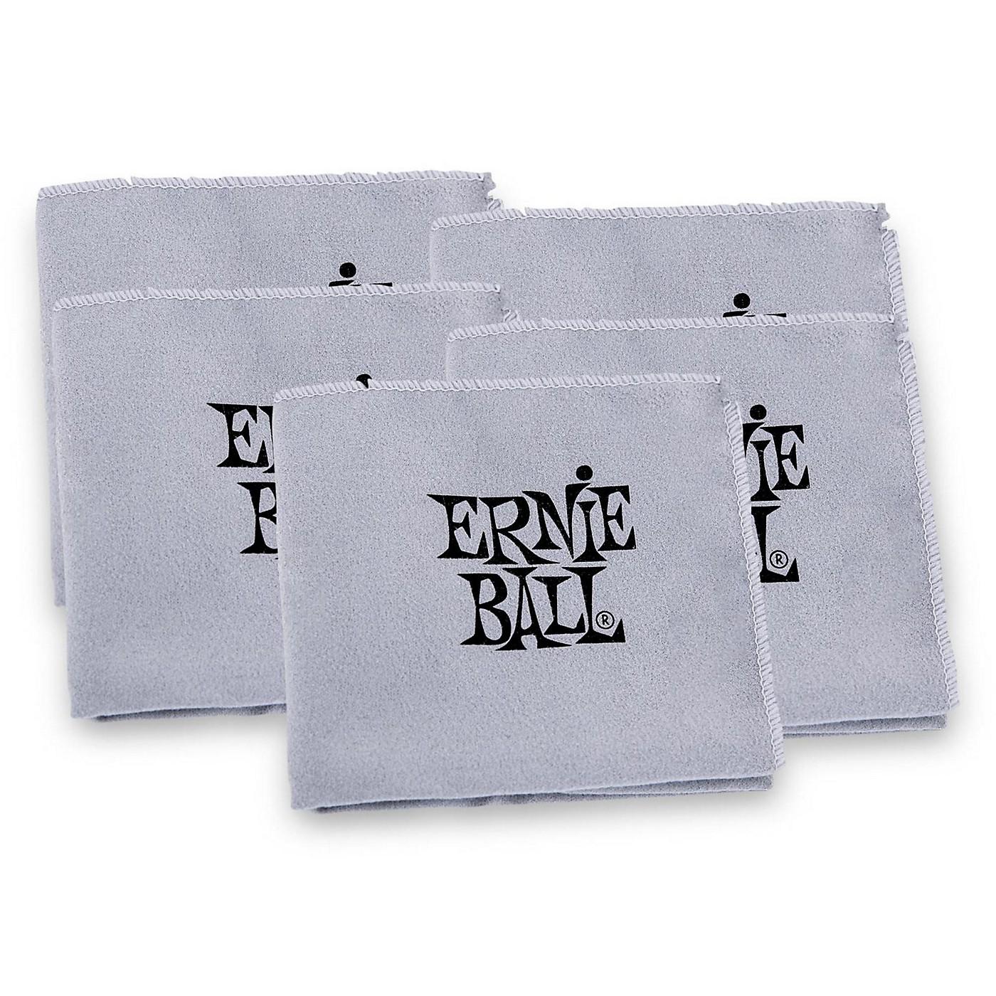 Ernie Ball Polish Cloth (5 Pack) thumbnail
