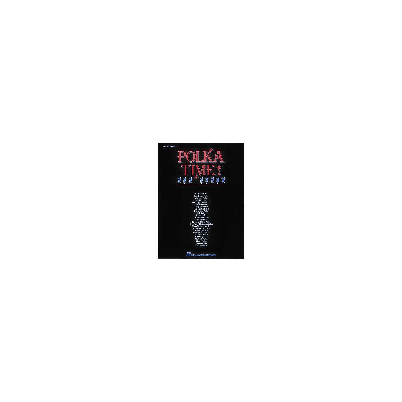 Hal Leonard Polka Time! Piano/Vocal/Guitar Songbook thumbnail