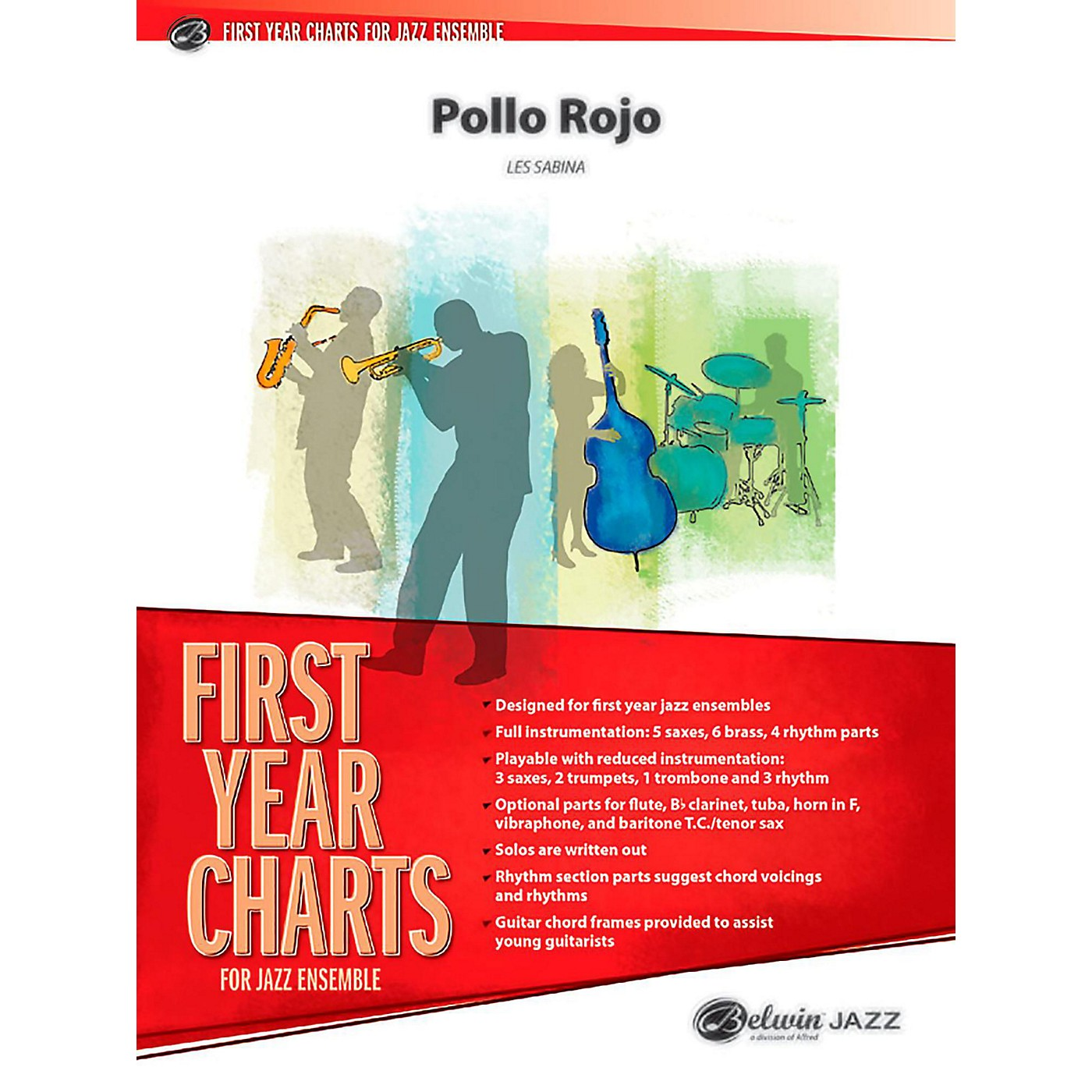 BELWIN Pollo Rojo Jazz Ensemble Grade 1 (Easy) thumbnail