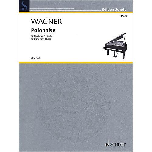 Schott Polonaise for Piano: 4 Hands thumbnail