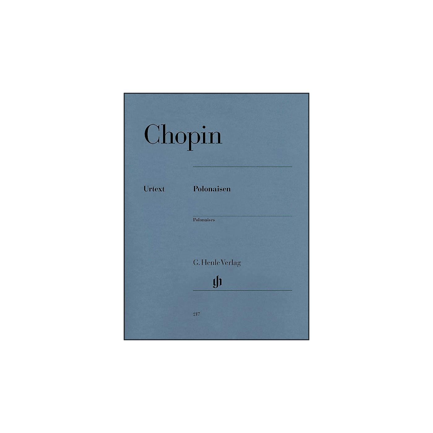 G. Henle Verlag Polonaises By Chopin / Zimmermann thumbnail