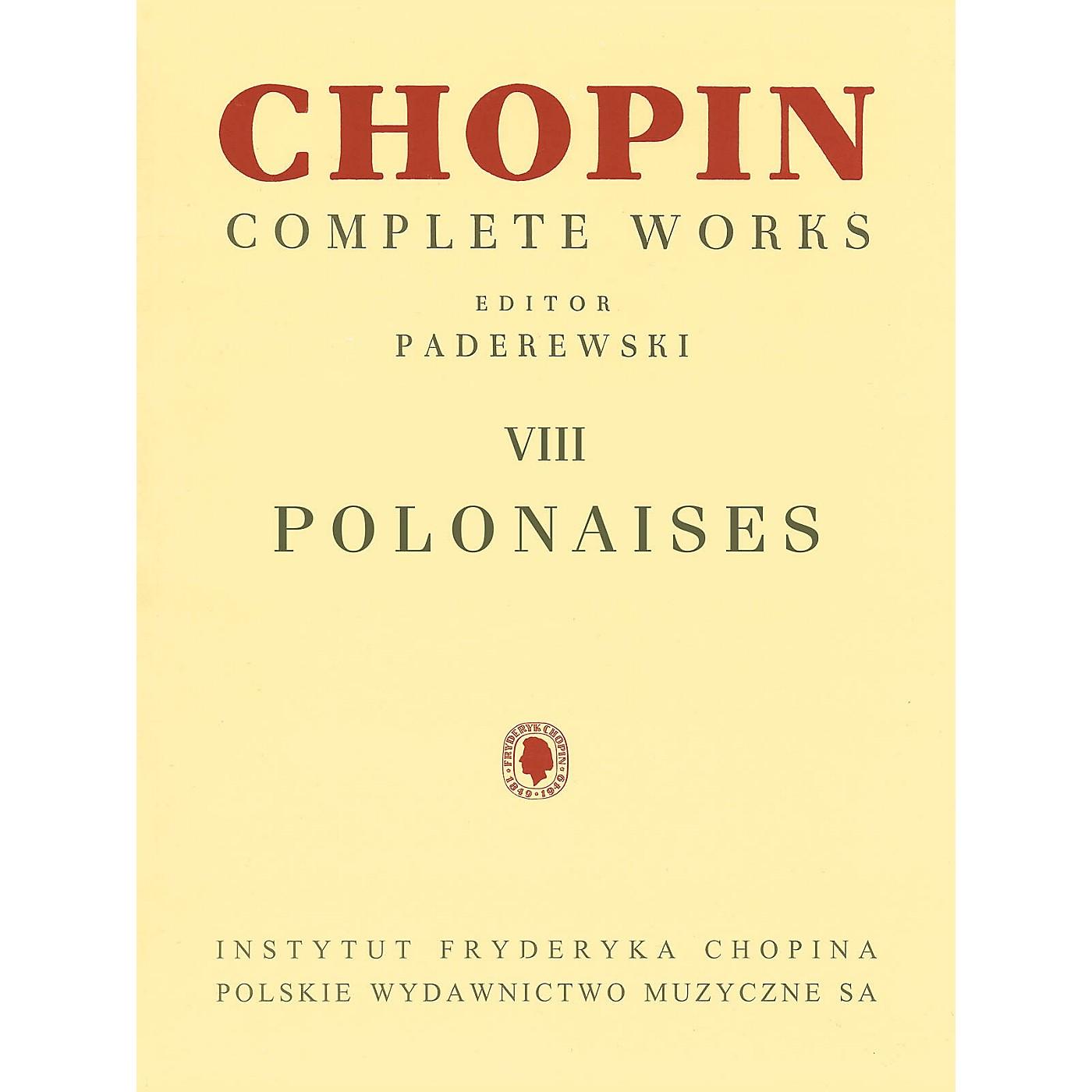 PWM Polonaises (Chopin Complete Works Vol. VIII) PWM Series Softcover thumbnail