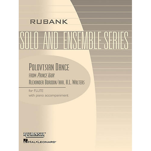 Rubank Publications Polovtsian Dance (from Prince Igor) (Flute Solo with Piano - Grade 3) Rubank Solo/Ensemble Sheet Series thumbnail
