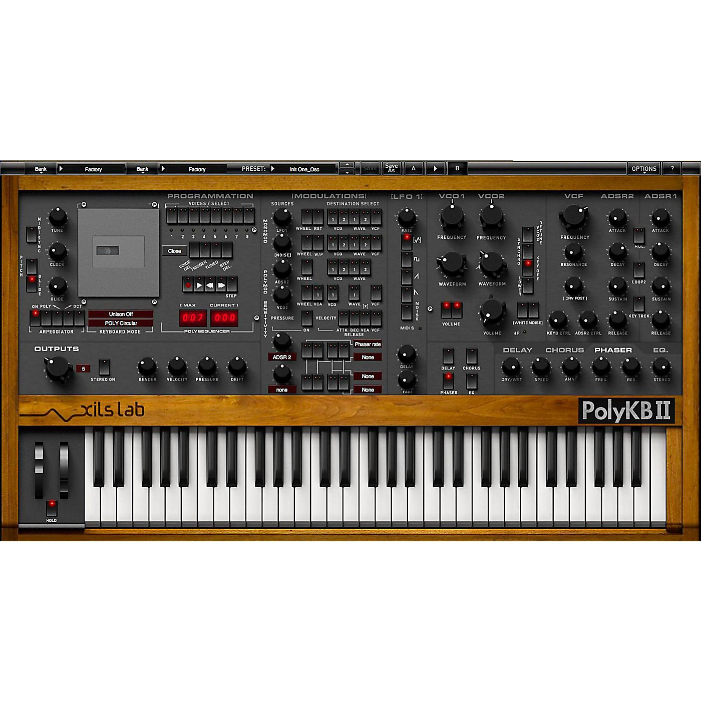 XILS lab PolyKB II Morphing Analog Synthesizer Software Download thumbnail