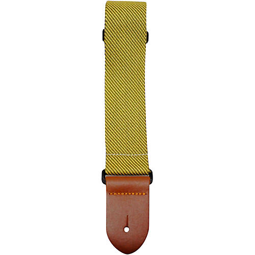 Perri's Polyester Guitar Strap with Leather Ends thumbnail