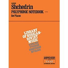 Associated Polyphonic Notebook (1972) (Piano Solo) Piano Method Series Composed by Rodion Shchedrin