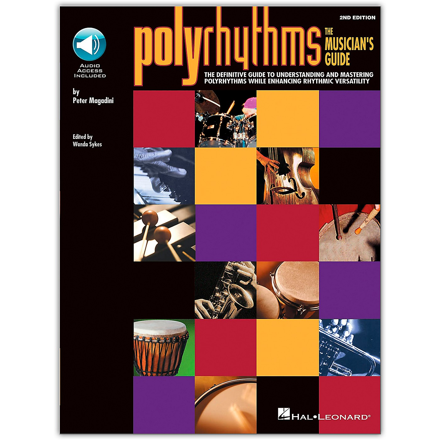 Hal Leonard Polyrhythms - The Musician's Guide Book/Online Audio thumbnail