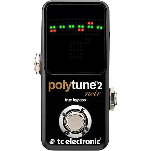 TC Electronic Polytune Noir Mini 2 Pedal Tuner thumbnail