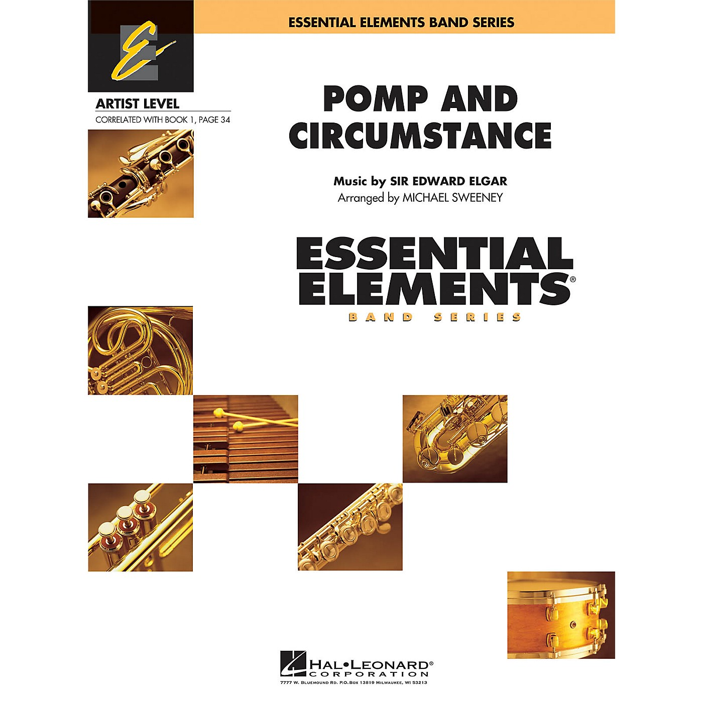 Hal Leonard Pomp and Circumstance Concert Band Level 1 Arranged by Michael Sweeney thumbnail