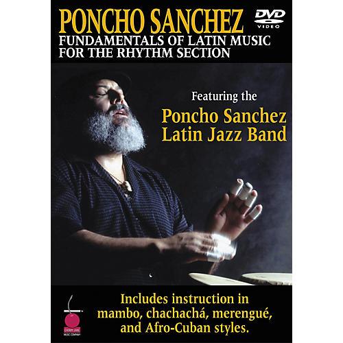 Cherry Lane Poncho Sanchez - Fundamentals of Latin Music for the Rhythm Section DVD thumbnail