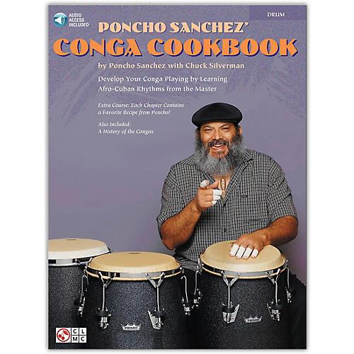 Hal Leonard Poncho Sanchez' Conga CookBook/Online Audio (Percussion / Conga Drums / Congas) Book/Online Audio thumbnail