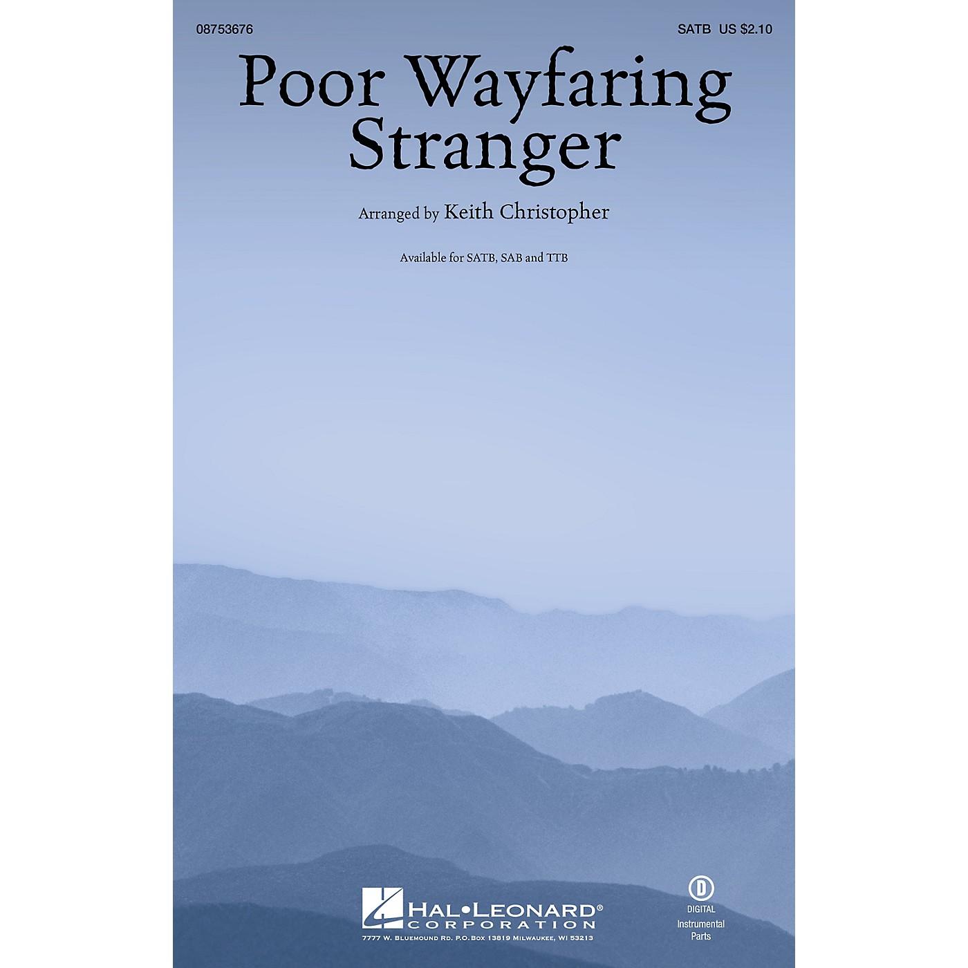 Hal Leonard Poor Wayfaring Stranger TTB Arranged by Keith Christopher thumbnail