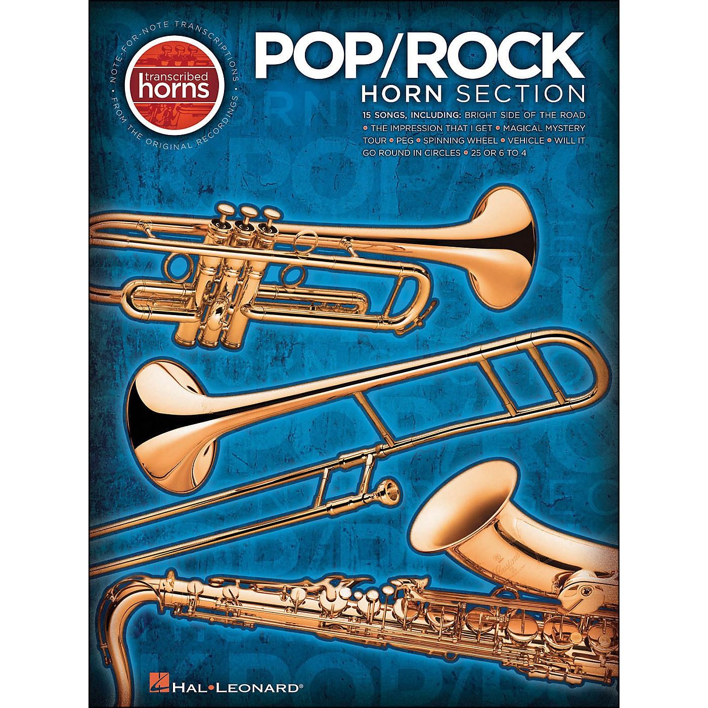 Hal Leonard Pop / Rock Horn Section Transcribed Horns thumbnail