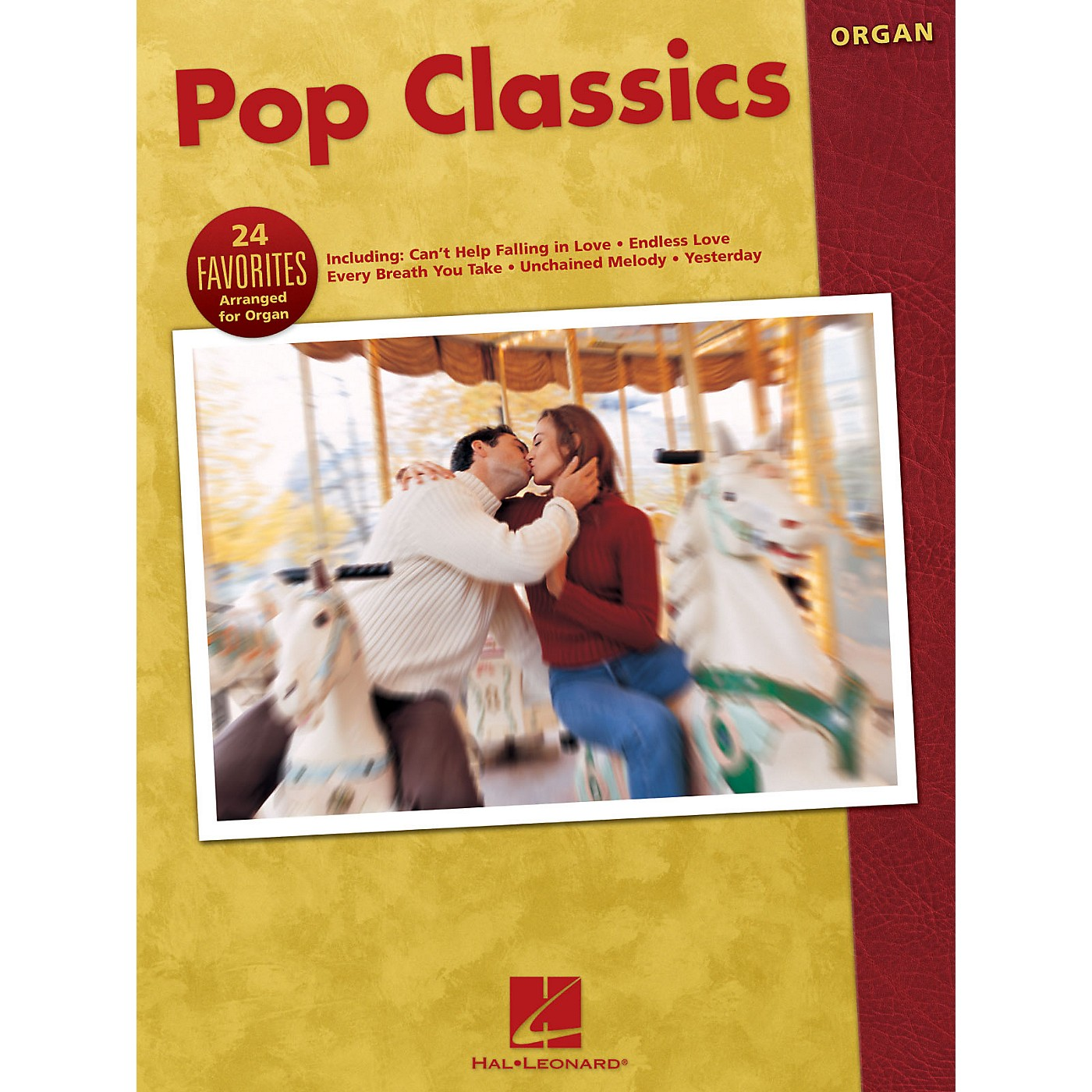 Hal Leonard Pop Classics (24 Favorites Arranged for Organ) Organ Adventure Series Performed by Various thumbnail