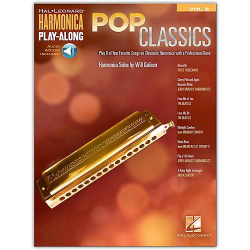 Hal Leonard Pop Classics Harmonica Play-Along Volume 8 Book/Audio Online thumbnail