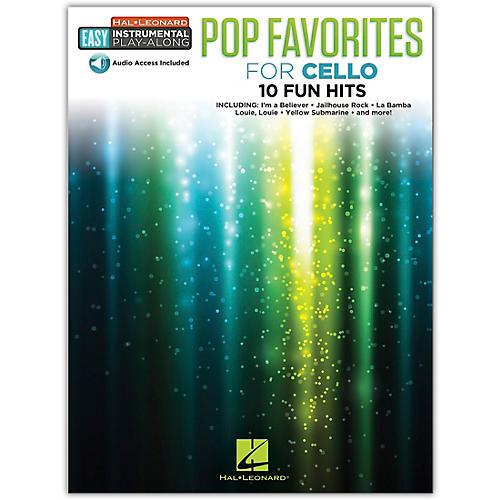 Hal Leonard Pop Favorites for Cello Easy Instrumental Play-Along Book/Audio Online thumbnail