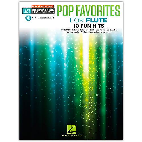 Hal Leonard Pop Favorites for Flute Easy Instrumental Play-Along Book/Audio Online thumbnail