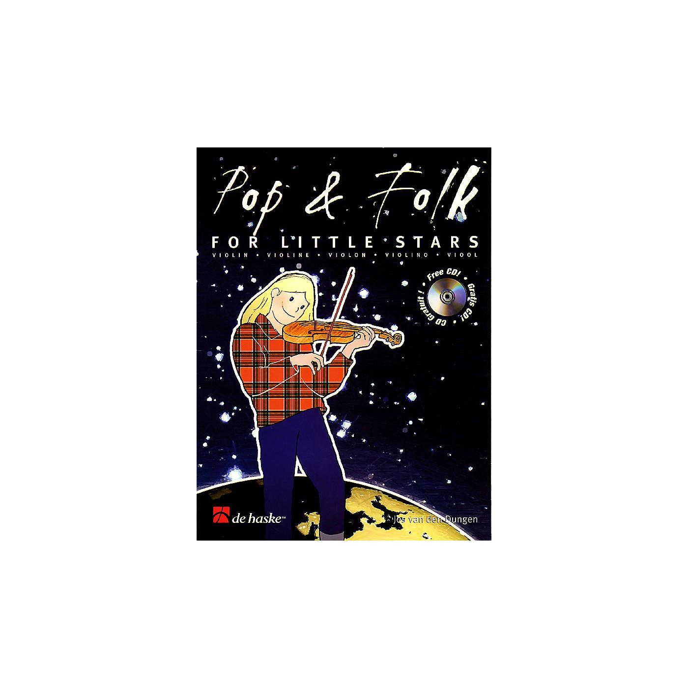 De Haske Music Pop & Folk for Little Stars De Haske Play-Along Book Series Softcover with CD thumbnail
