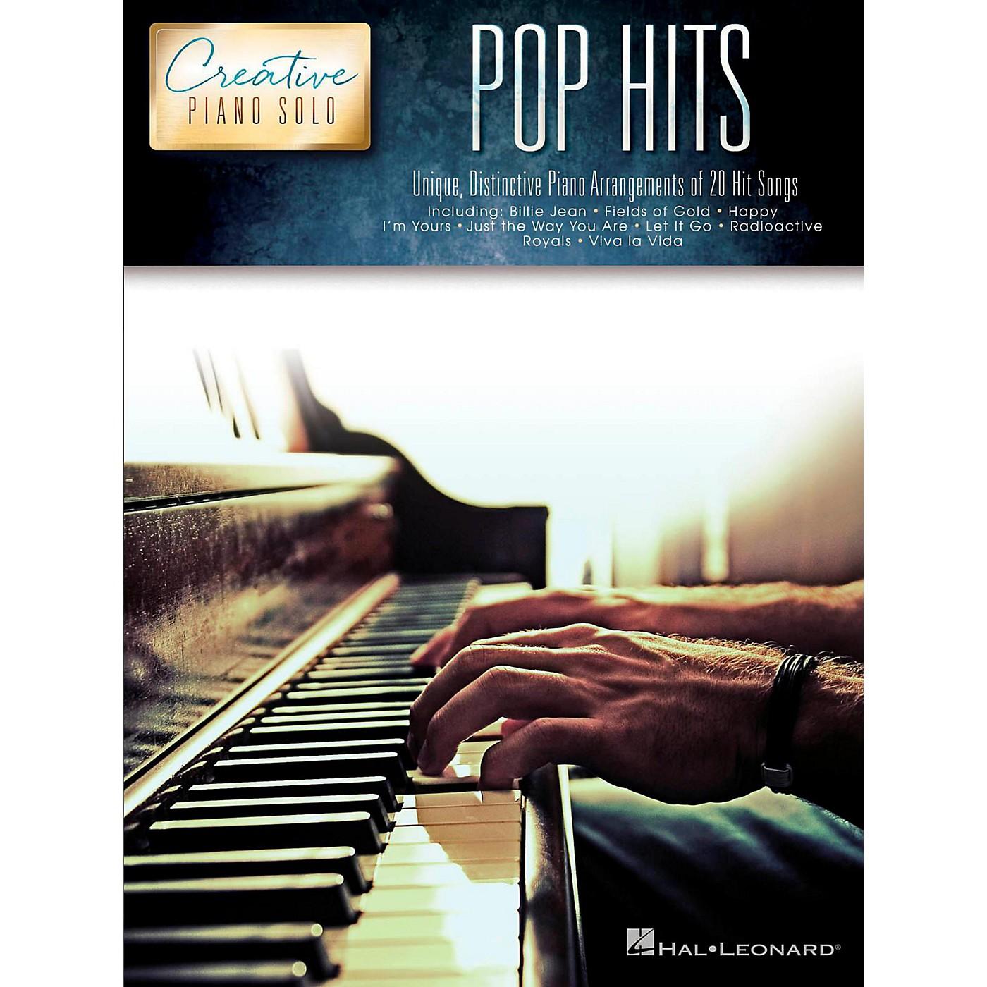 Hal Leonard Pop Hits - Creative Piano Solo Songbook thumbnail