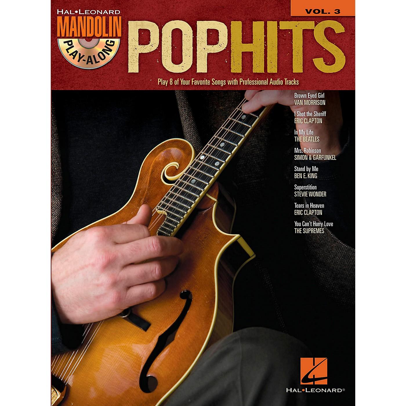 Hal Leonard Pop Hits - Mandolin Play-Along Vol. 3 (Book/CD) thumbnail