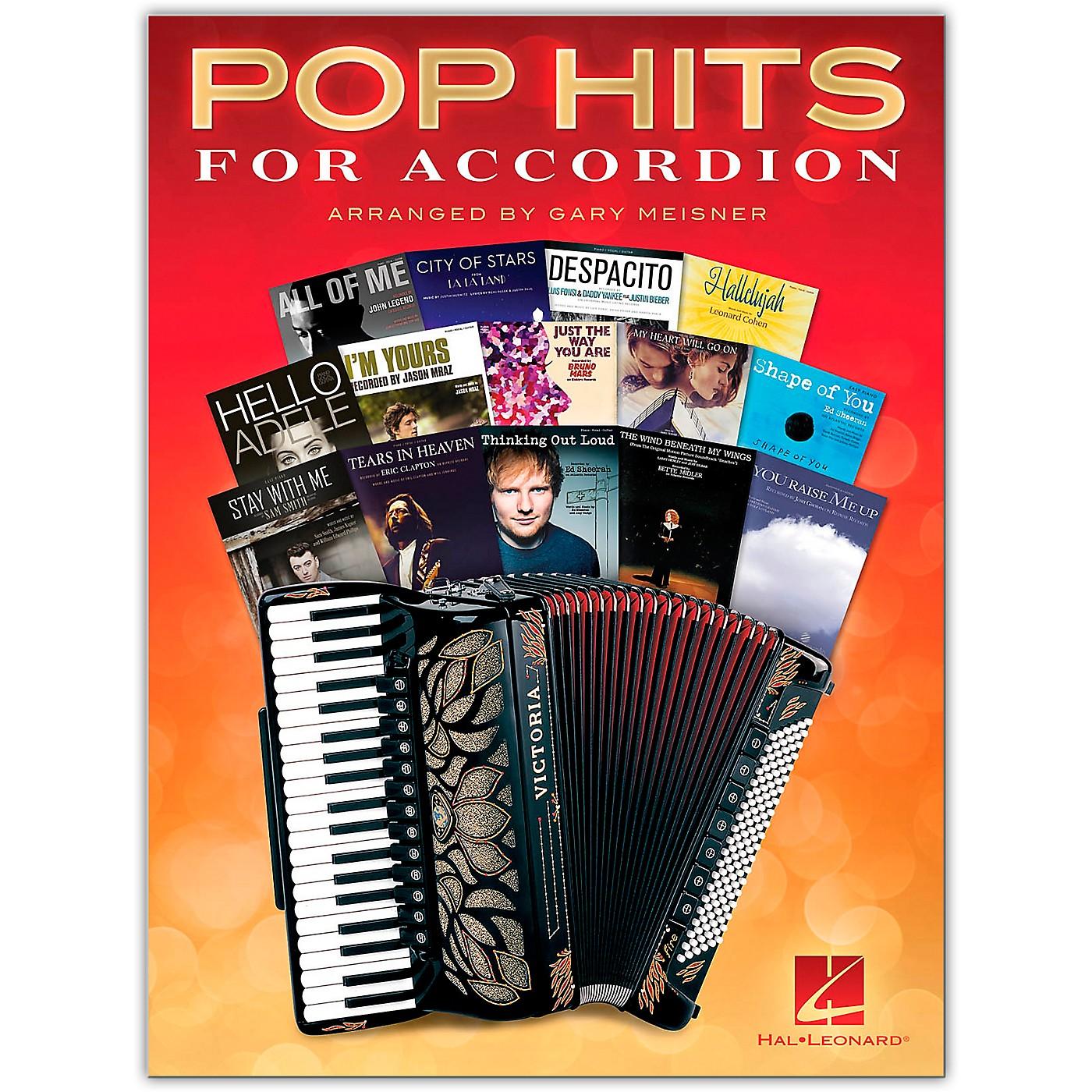 Hal Leonard Pop Hits for Accordion Songbook thumbnail