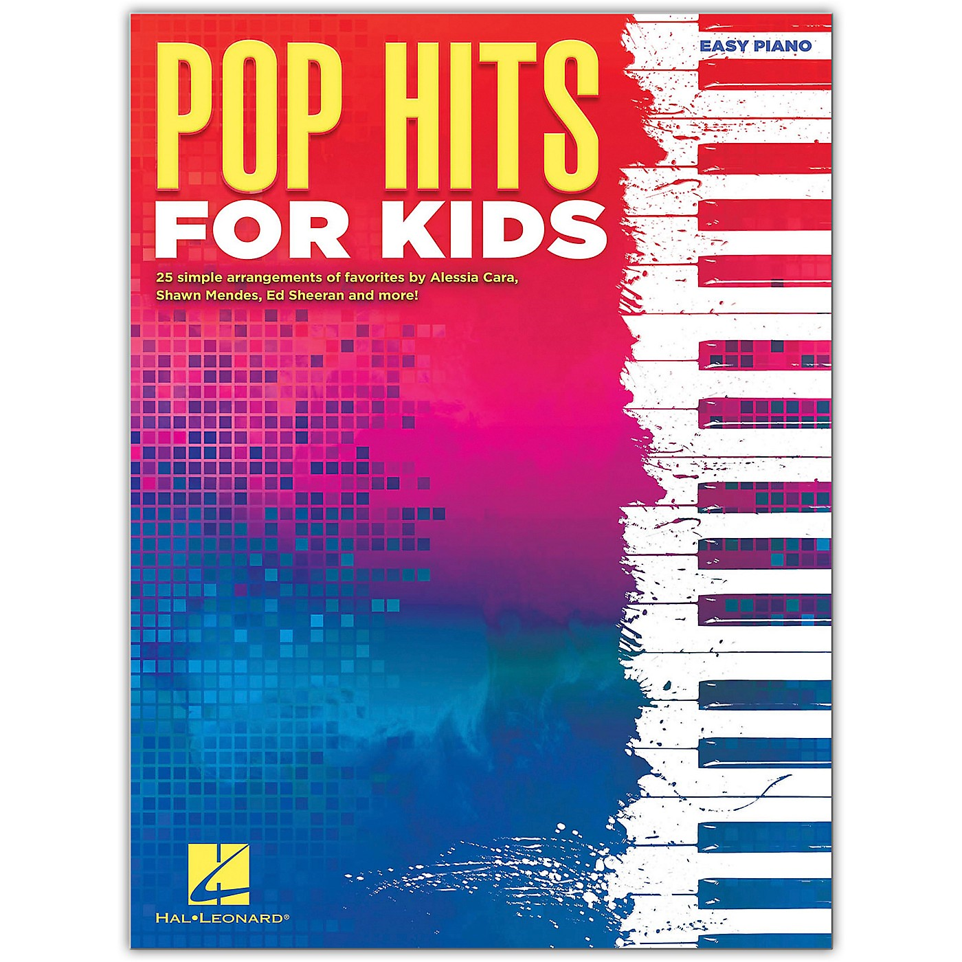 Hal Leonard Pop Hits for Kids - Easy Piano Songbook thumbnail