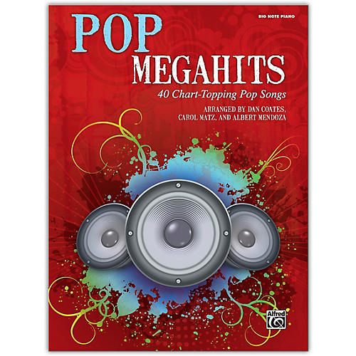 Alfred Pop Megahits Big Note Piano thumbnail