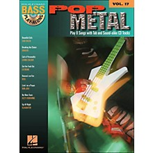 Hal Leonard Pop Metal Bass Play-Along Volume 17 Book/CD