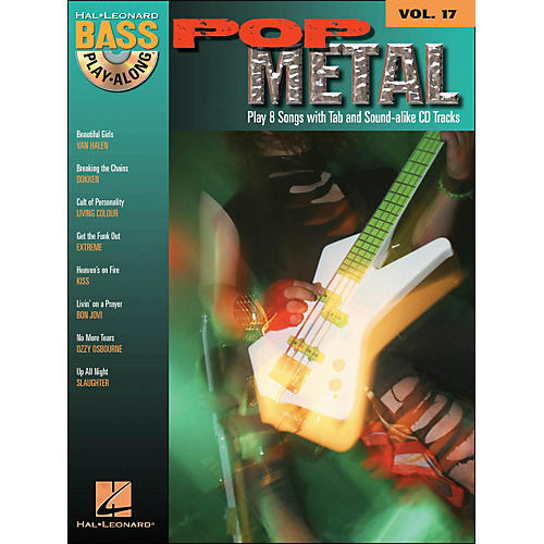 Hal Leonard Pop Metal Bass Play-Along Volume 17 Book/CD thumbnail