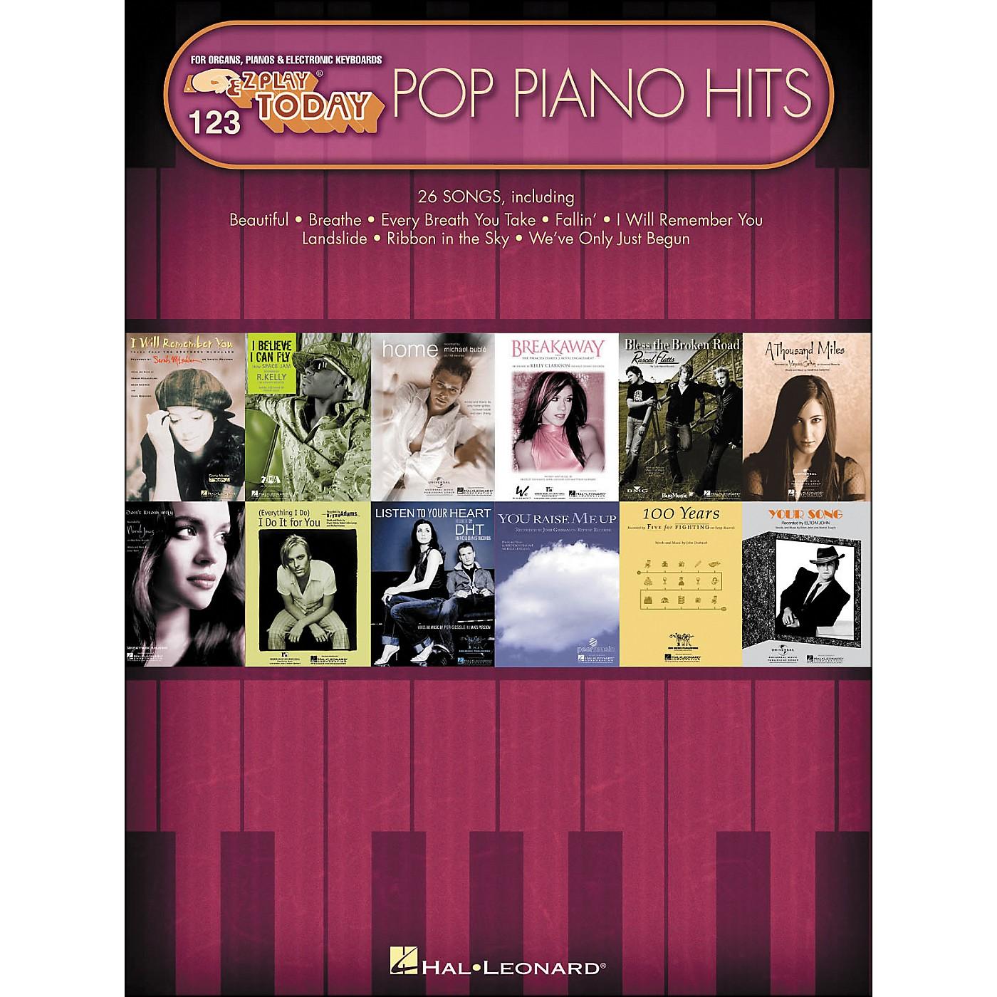 Hal Leonard Pop Piano Hits E-Z Play 123 thumbnail