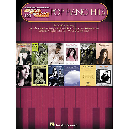 Hal Leonard Pop Piano Hits E-Z Play 123 thumbnail