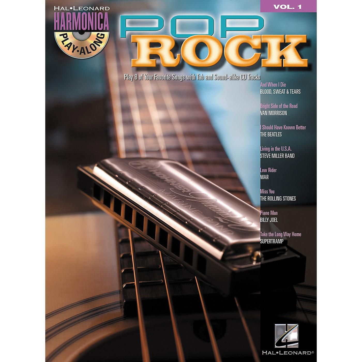 Hal Leonard Pop Rock - Harmonica Play-Along Series, Volume 1 (Book/CD) thumbnail