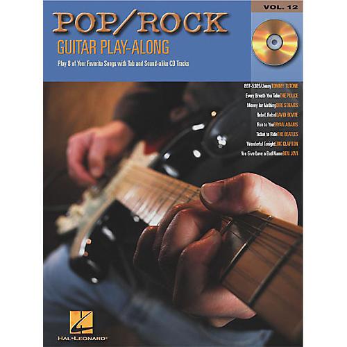 Hal Leonard Pop/Rock Guitar Play-Along Series Book with CD thumbnail