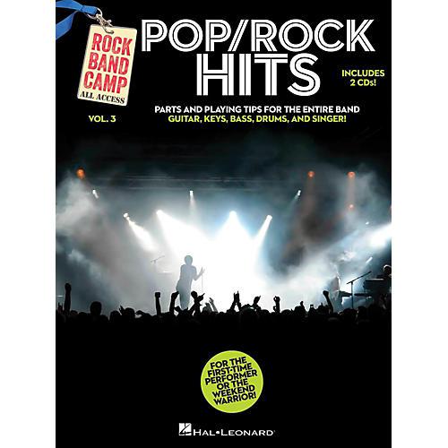 Hal Leonard Pop/Rock Hits - Rock Band Camp Vol. 3 (Book/2-CD Pack) Vocal, Guitar, Keys, Bass, Drums thumbnail
