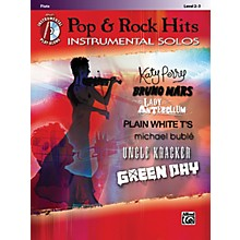 Alfred Pop & Rock Hits Instrumental Solos Flute Book & CD