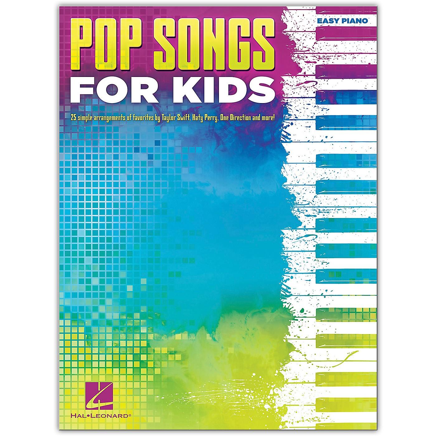 Hal Leonard Pop Songs For Kids Easy Piano thumbnail
