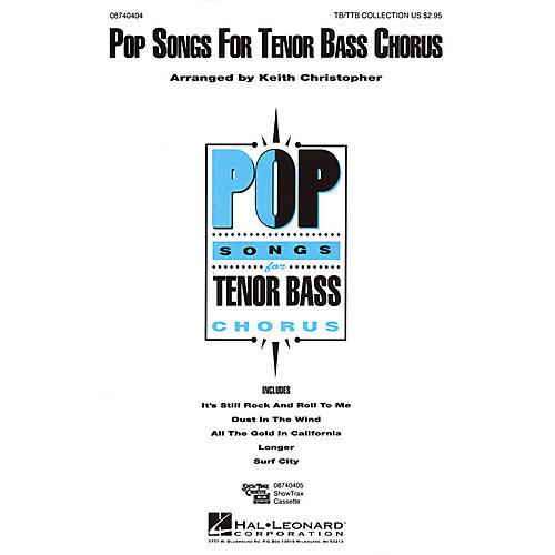 Hal Leonard Pop Songs for Tenor Bass Chorus (Collection) TB/TTB arranged by Keith Christopher thumbnail