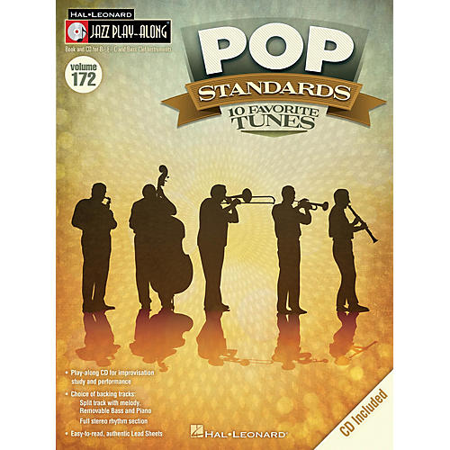 Hal Leonard Pop Standards (Jazz Play-Along Volume 172) Jazz Play Along Series Softcover with CD thumbnail