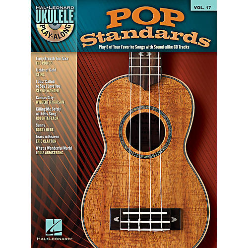 Hal Leonard Pop Standards Ukulele Play-Along Volume 17 Book/CD thumbnail