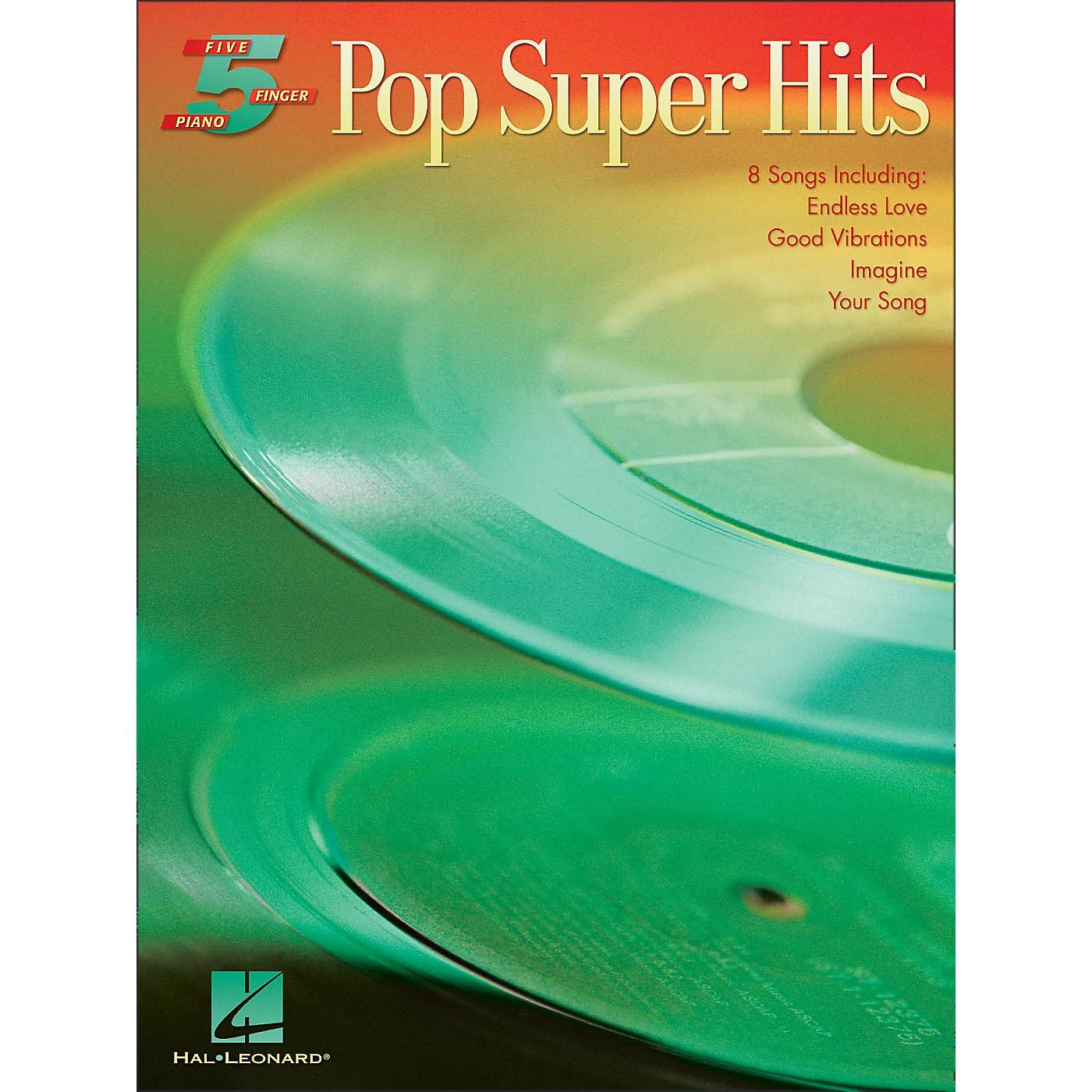 Hal Leonard Pop Super Hits for Five Finger Piano thumbnail