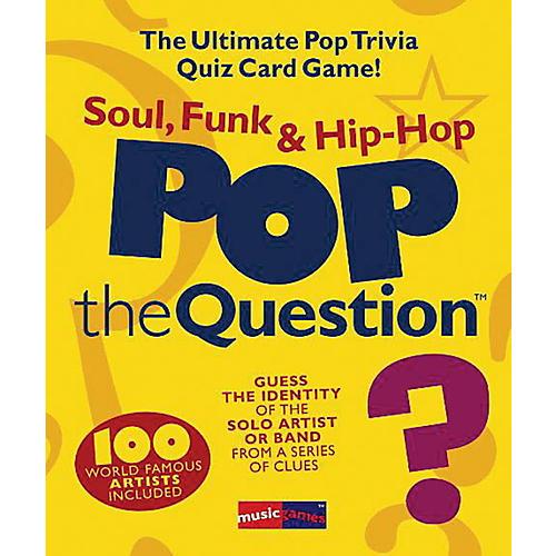 Music Sales Pop The Question Soul, Funk & Hip Hop - The Ultimate Pop Trivia Quiz Card Game thumbnail