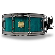 OUTLAW DRUMS Poplar Stave Snare Drum with Black Chrome Hardware