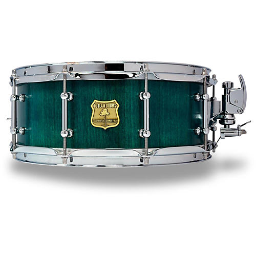 OUTLAW DRUMS Poplar Stave Snare Drum with Chrome Hardware thumbnail