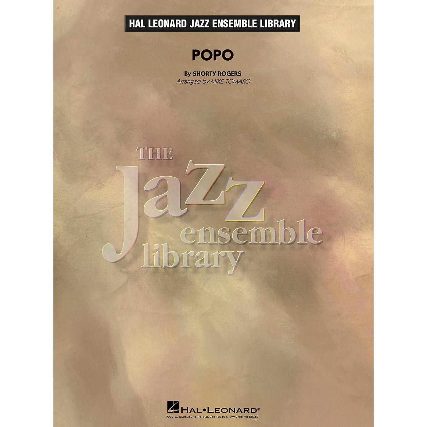Hal Leonard Popo Jazz Band Level 4 Arranged by Mike Tomaro thumbnail